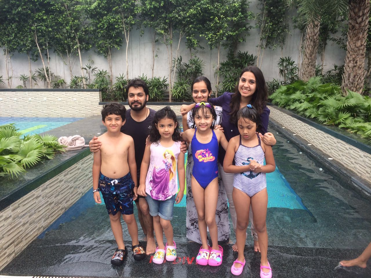 Swiming pool for children in gurgaon