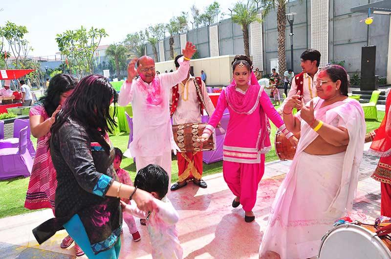 Holi Celebration in Gurgaon